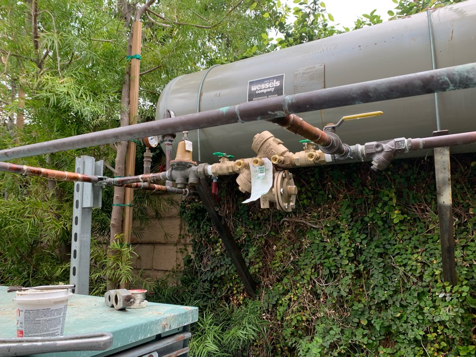 Whittier, CA - Back flow valve replacement