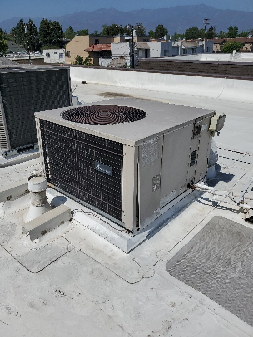 Alhambra, CA - Change out package unit.