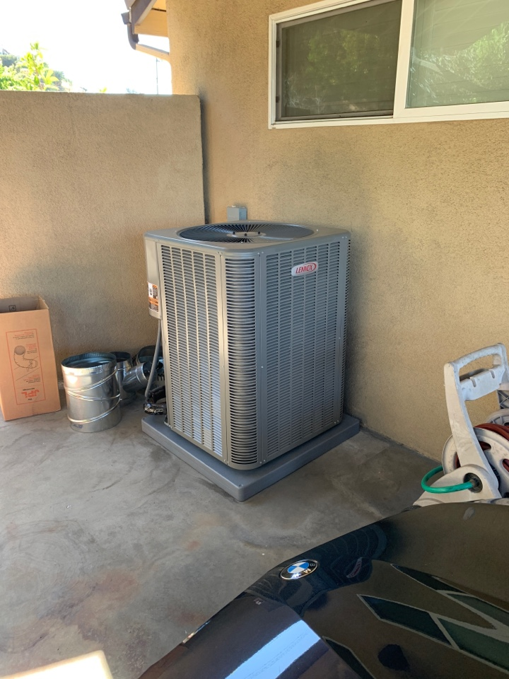 Monterey Park, CA - Full system install 2 zones up stairs and down stairs here in Monterey park