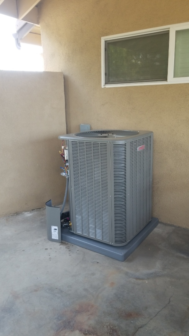 Monterey Park, CA - Fully installed zoning unit. Here in Monterey park, CA