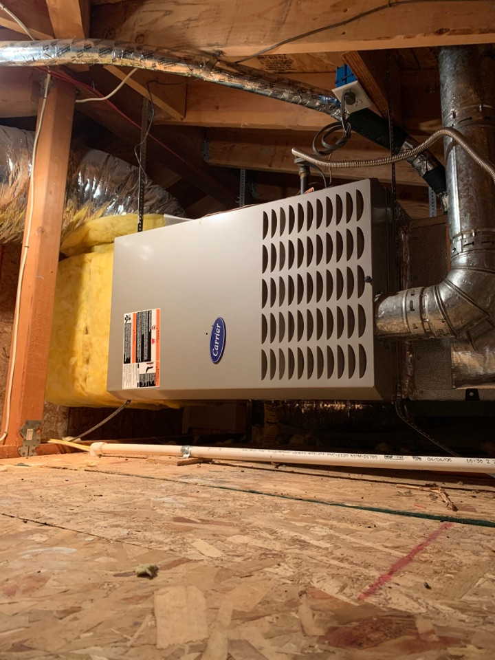Pasadena, CA - New install of coil and condenser only increasing the return an re location of the condenser