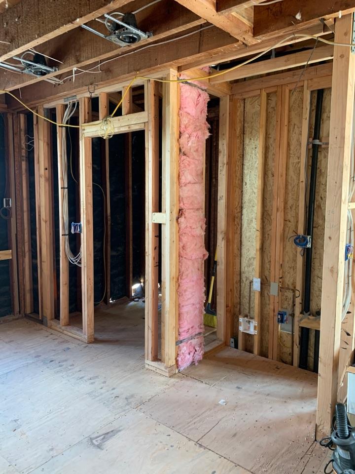 Altadena, CA - Rough inspection for HVAC here in Altadena