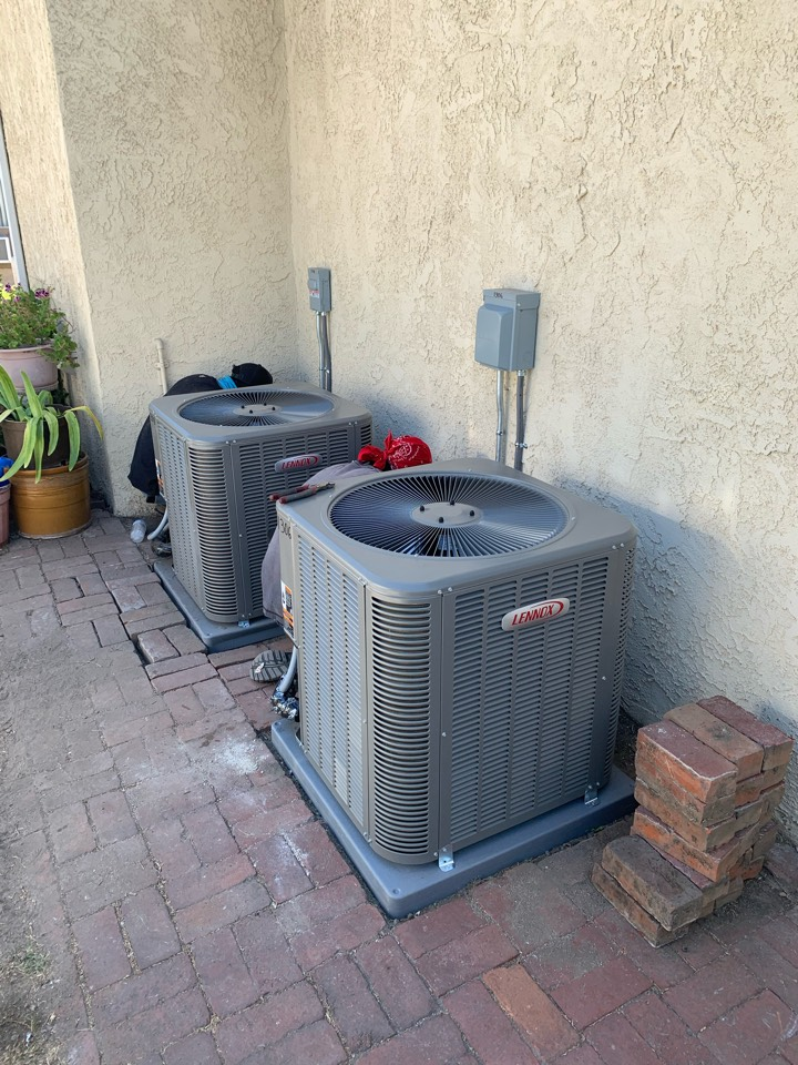 Burbank, CA - Job check of two systems we are installing in a spit house here in Burbank