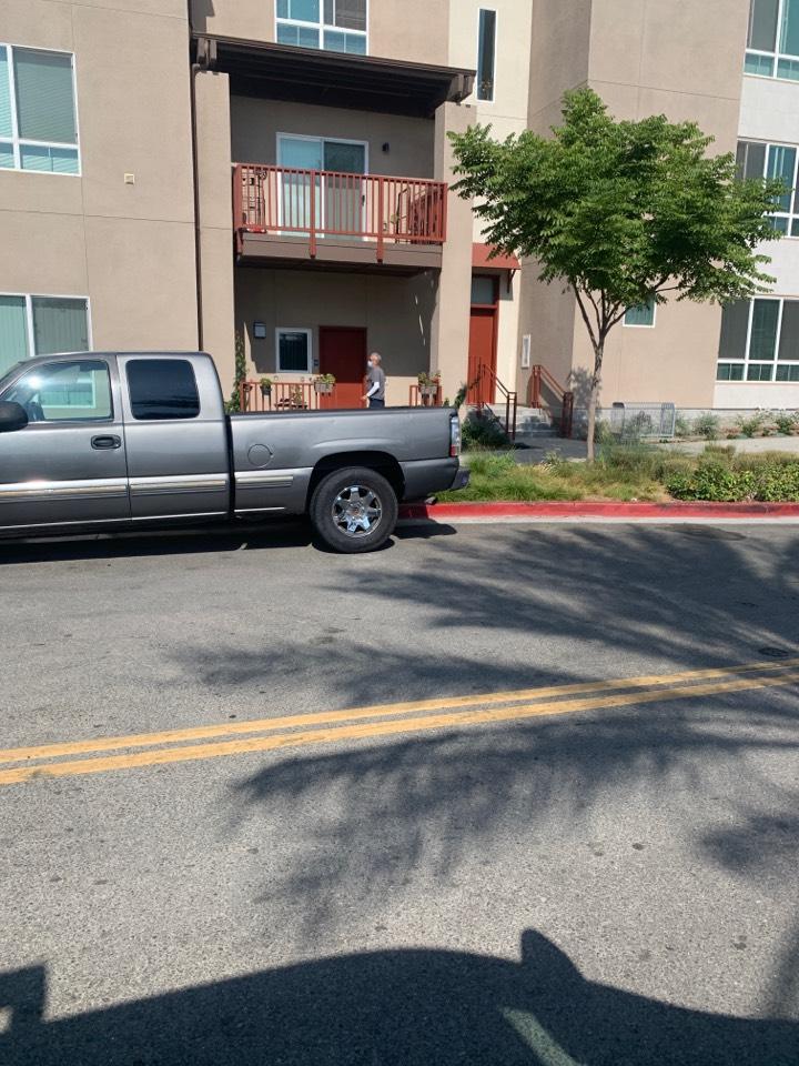 Los Angeles, CA - Fan coil water leak