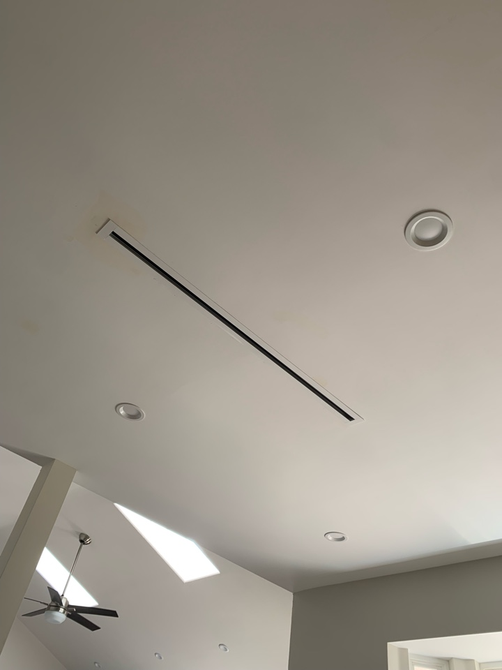 Los Angeles, CA - Installed linear registers on a job we started a while back here in north ridge