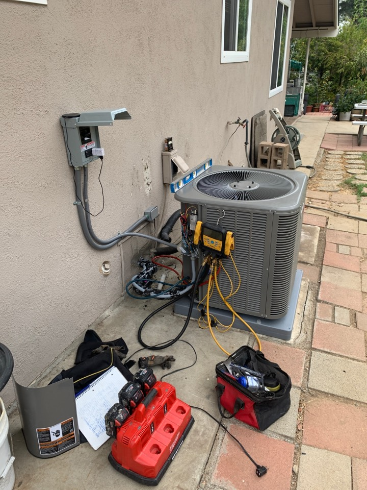 South Pasadena, CA - Job check on a 2 system install we are doing here in south Pasadena