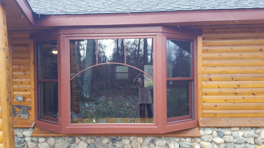Park Rapids, MN - Renewal by Andersen Better Living Concepts.  New beautiful bay window with custom grids.