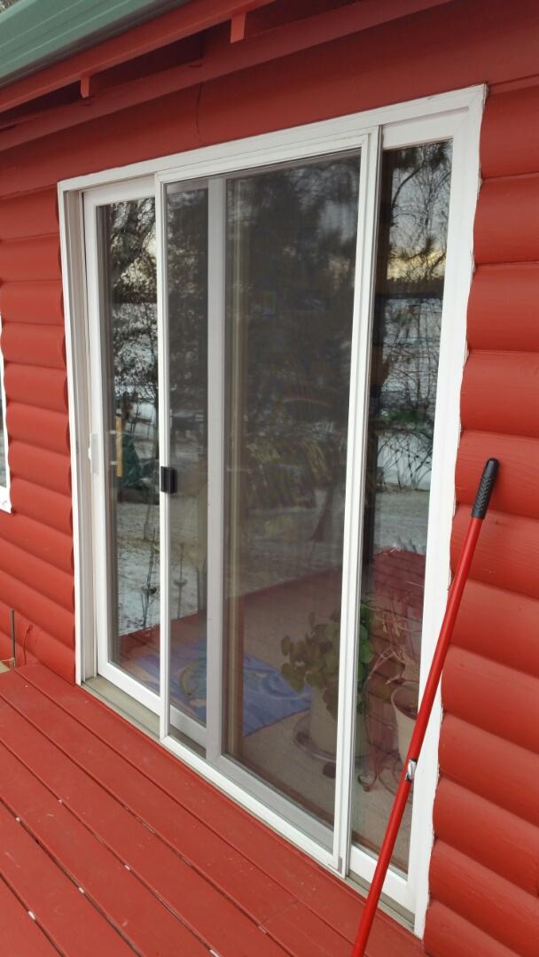 Nevis, MN - Renewal by Andersen Better Living Concepts.  Quote new patio door.
