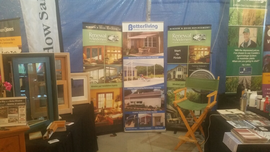 Park Rapids, MN - Renewal by Andersen Better Living Concepts at the Hubbard County Fair.