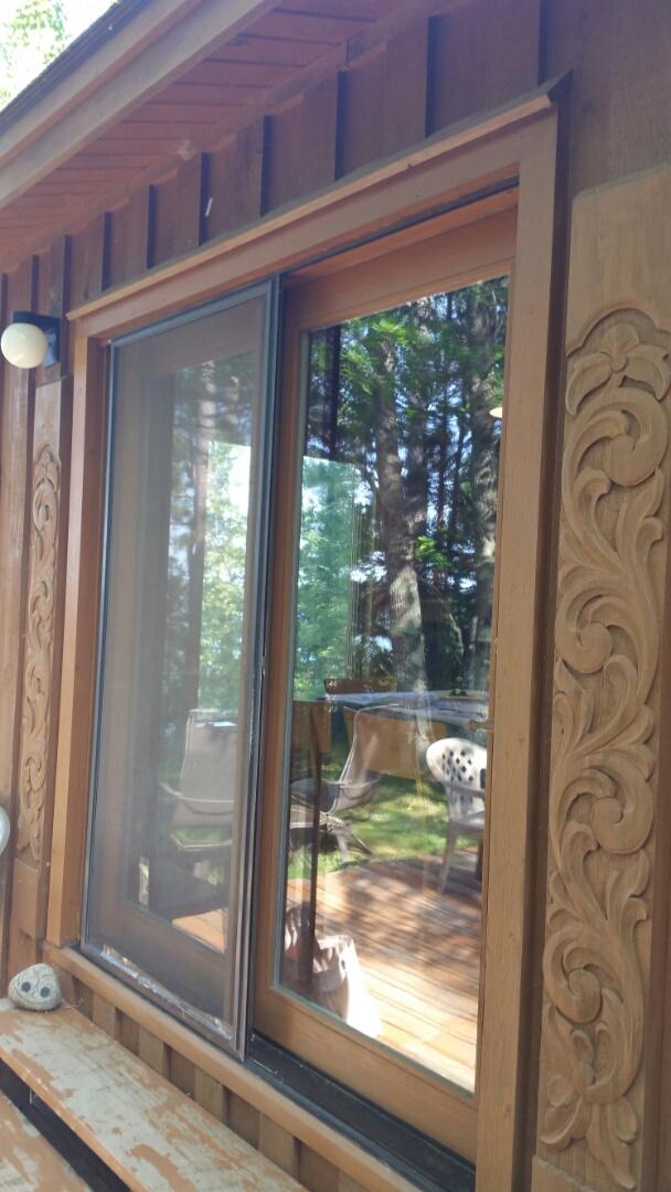 Laporte, MN - Renewal by Andersen Better Living Concepts.  Sold patio door.