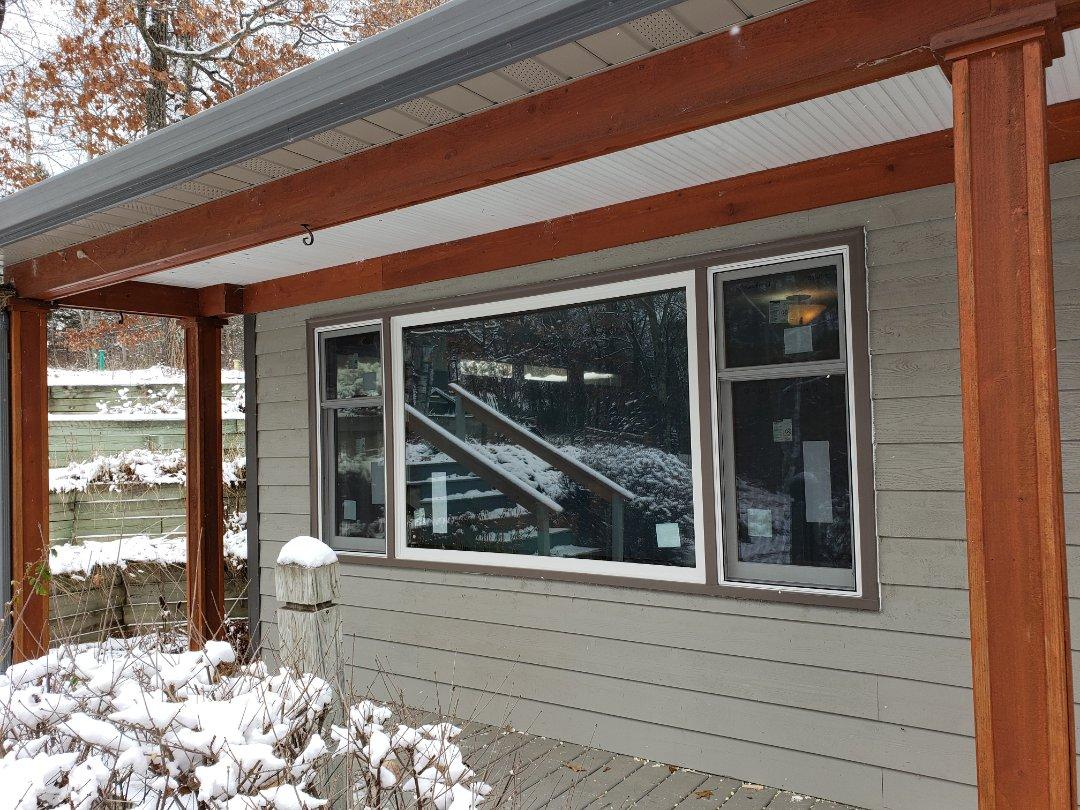Park Rapids, MN - Renewal by Andersen Better Living Concepts.  Work in progress.  New windows.