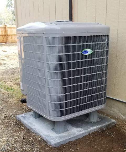 Redmond, OR - New Install Carrier Heat Pump
