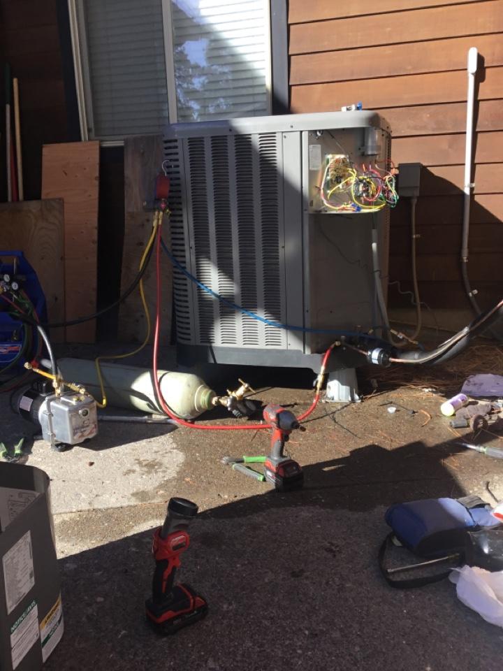 Sisters, OR - Rheem Heat pump reversing valve change out