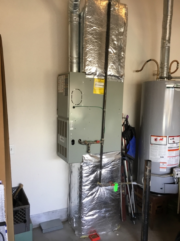 Bend, OR - Trane gas furnace