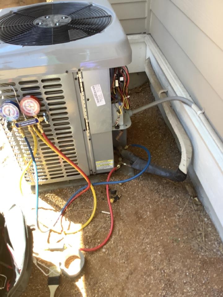 Maintenance on gas furnace and ac unit