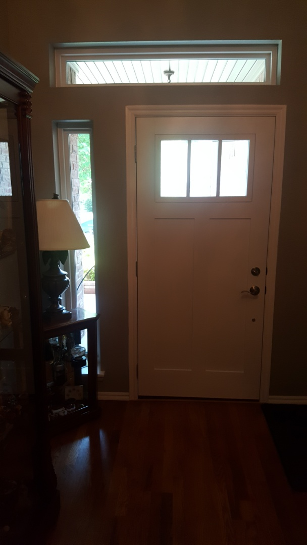 Claremore, OK - Beautiful front door and storm door! One of a kind.