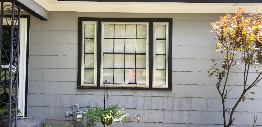 Broken Arrow, OK - Converting 3 windows into 1 large slider window at the Forbes residence.
