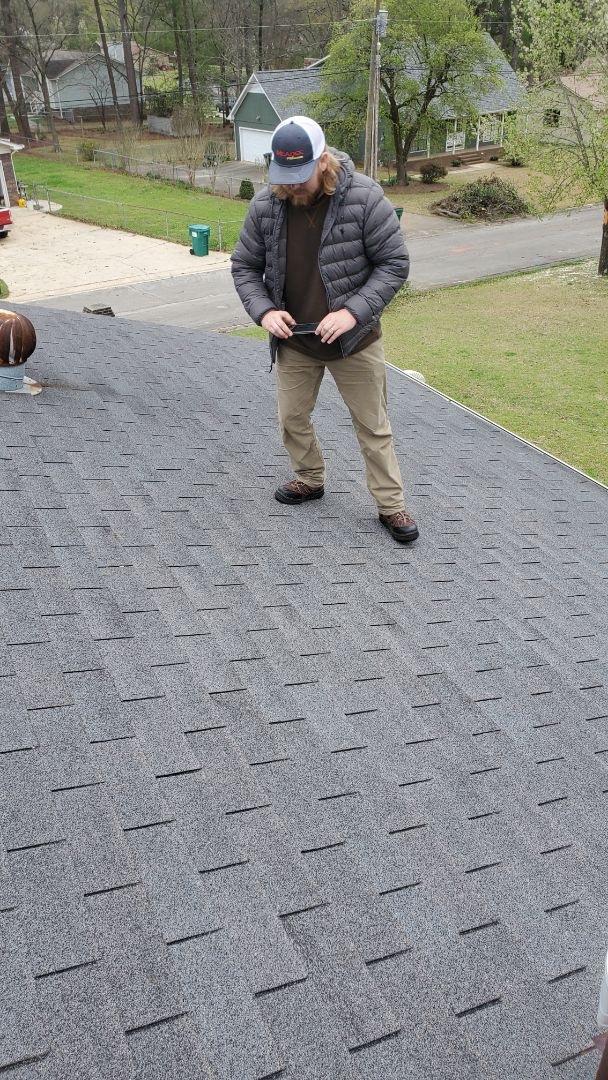 Inspections going down in Gardendale! #RoofingDoneRight #5StarRoofing