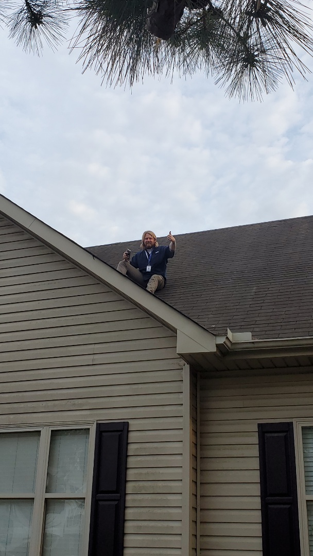 Doing some roof inspections in Mt. Olive with Jacob!!! #RoofingDoneRight #5StarRoofing