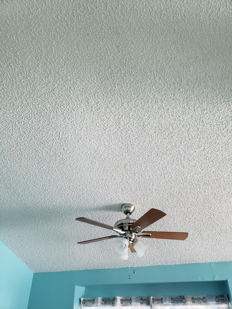 Installation of ceiling fan in brace Box to support ceiling fan in 2 locations