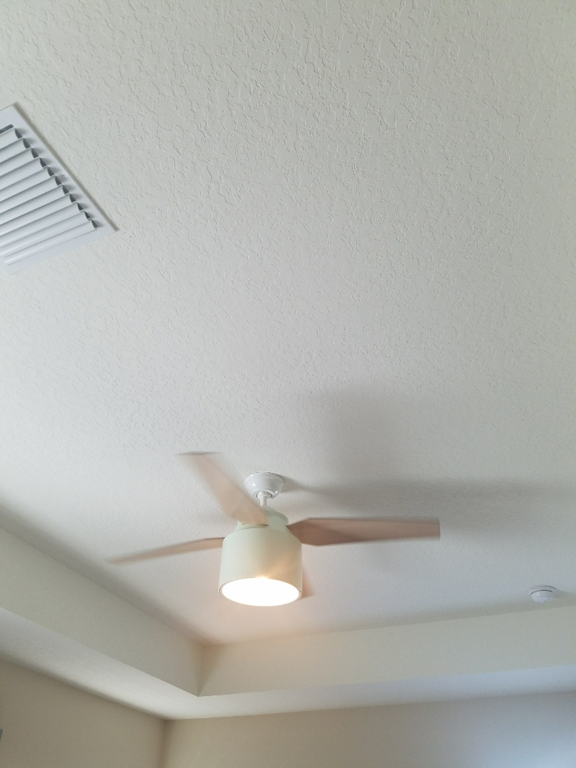 Wesley Chapel, FL - Installation of ceiling fan