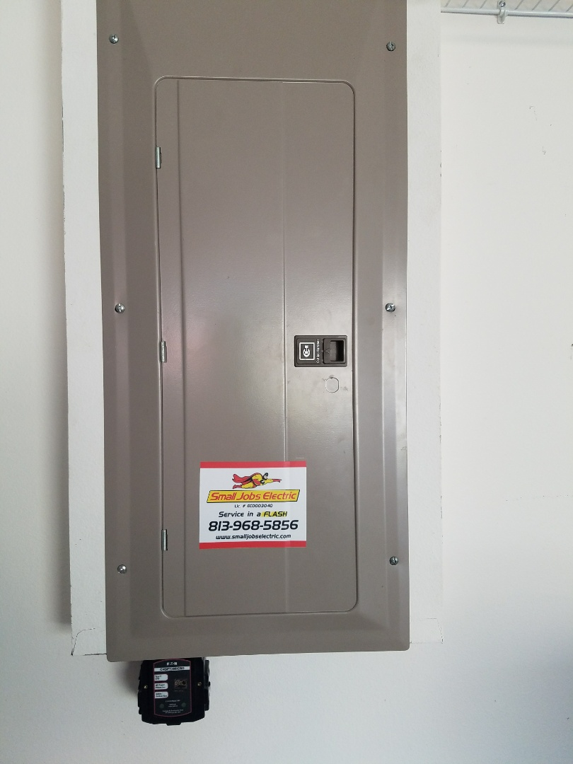 Odessa, FL - Installation of surge protection and upgrade lightning closet