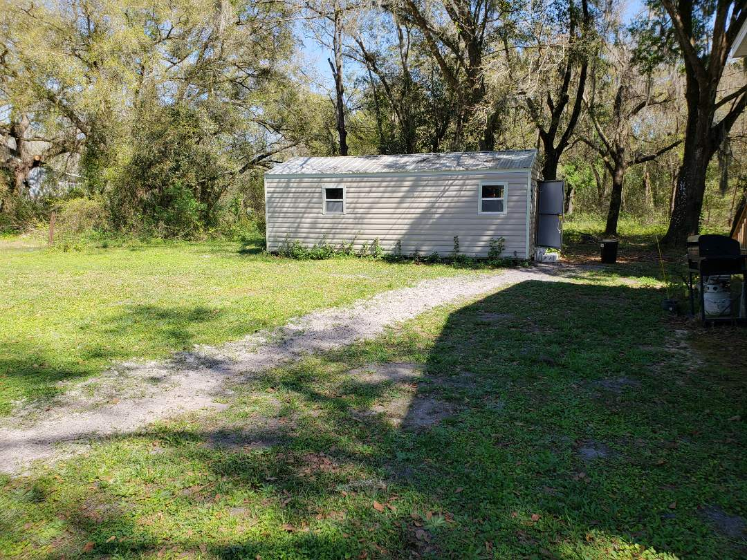 Zephyrhills, FL - Wire power to shed
