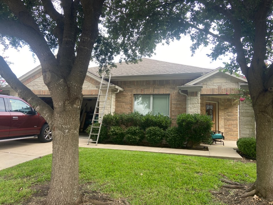Round Rock, TX - Mpact roofing completes a roof leak repair.