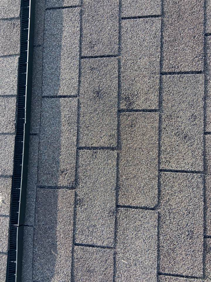 Pflugerville, TX - Mpact Roofing completed another roof inspection and found hail damage to the roof and gutters.