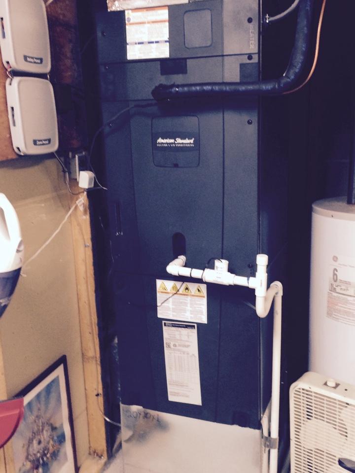 Fredericksburg, VA - Gas furnace repair.