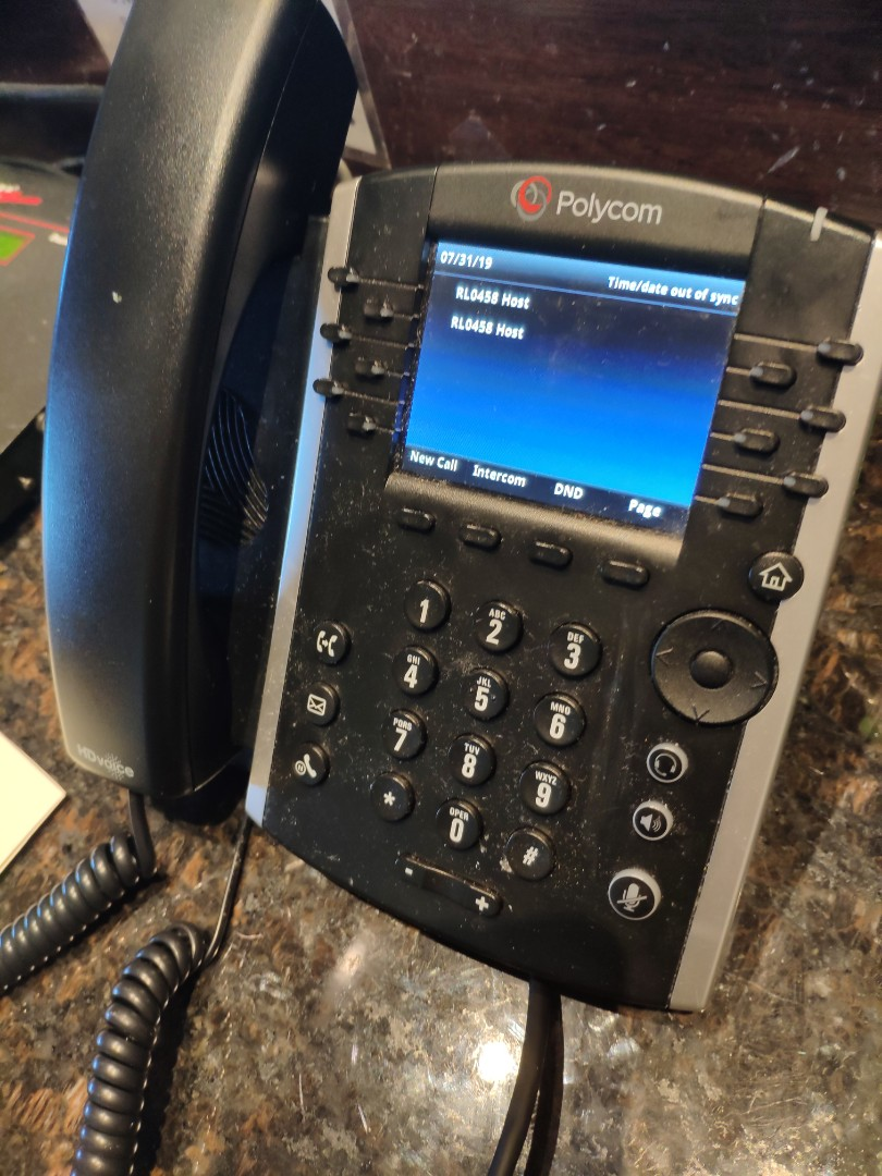 Fixing down VoIP phone