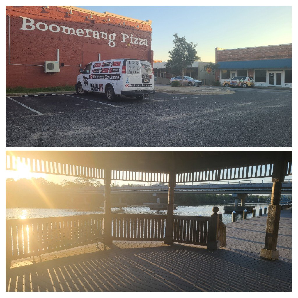 Thanks for calling us in Boomerang Pizza! Hope you enjoy the music and paging setup!