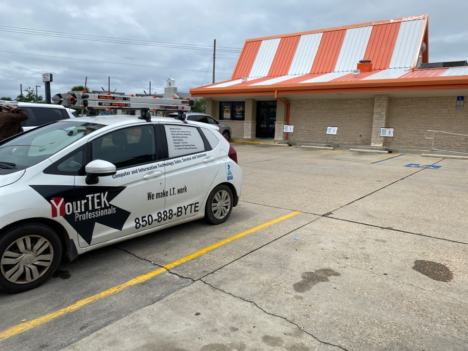 Making sure Whataburger in Fort Walton has their IT needs met