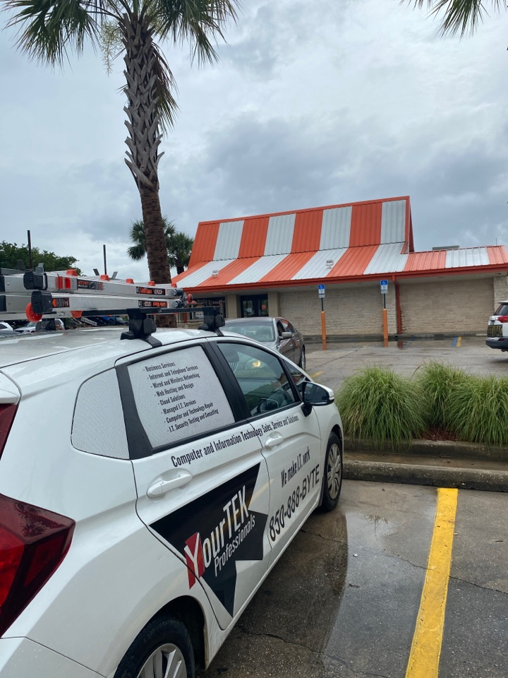 Pensacola, FL - Here to help out with Whataburger's IT needs