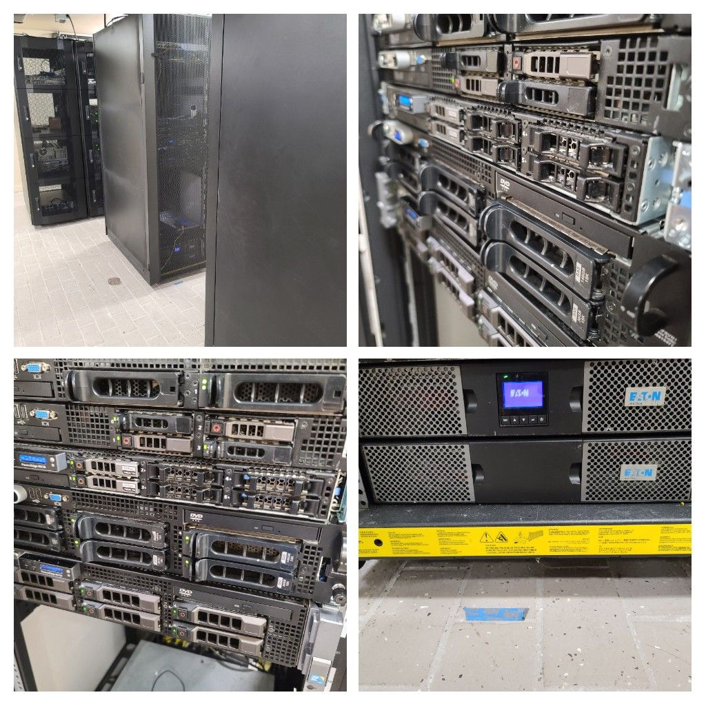 Installing new servers in our datacenter, and planning next phase of upgrades and replacements.