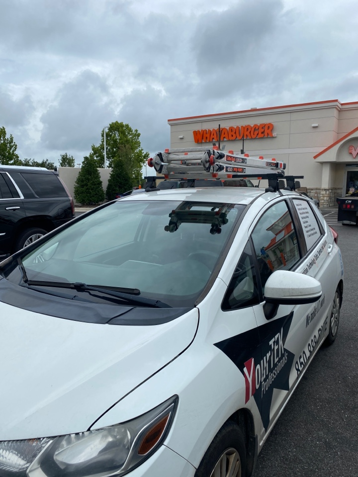 Fixing a printer issue here at The Whataburger in Daphne AL