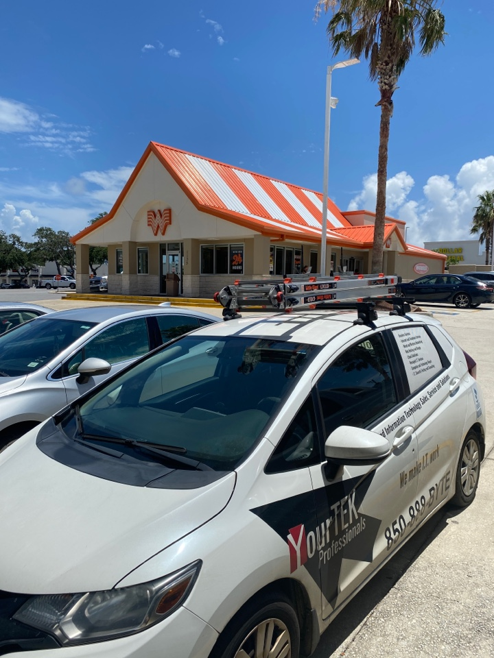 Making sure this Whataburger in Gulf Breeze can effectively serve their customers