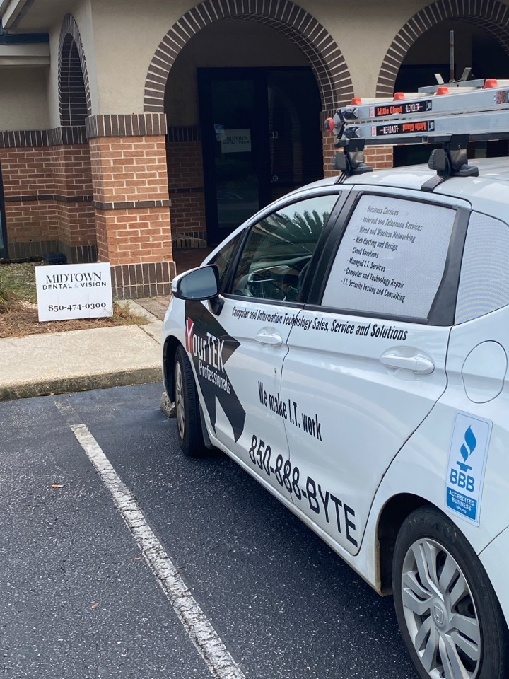 Helping Midtown Dental get their network back up and running