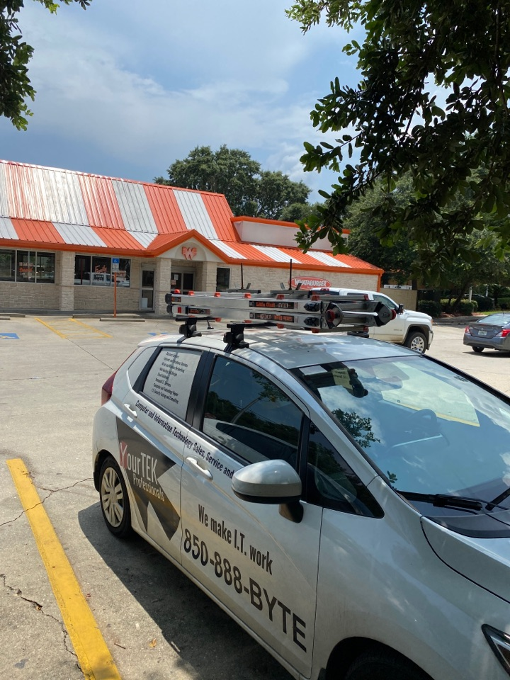 Helping this Whataburger get a register back online