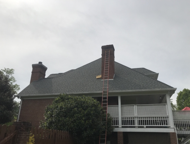 Powell, TN - We recommended a chimney cap be installed to prevent further damage.