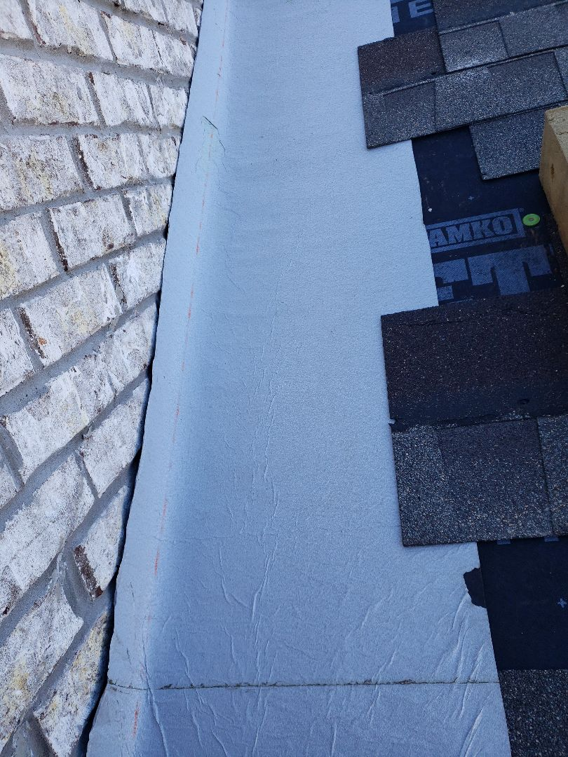 Maryville, TN - Visited this home and completed a roof leak repair.  Roof flashing repairs are something we frequently do.