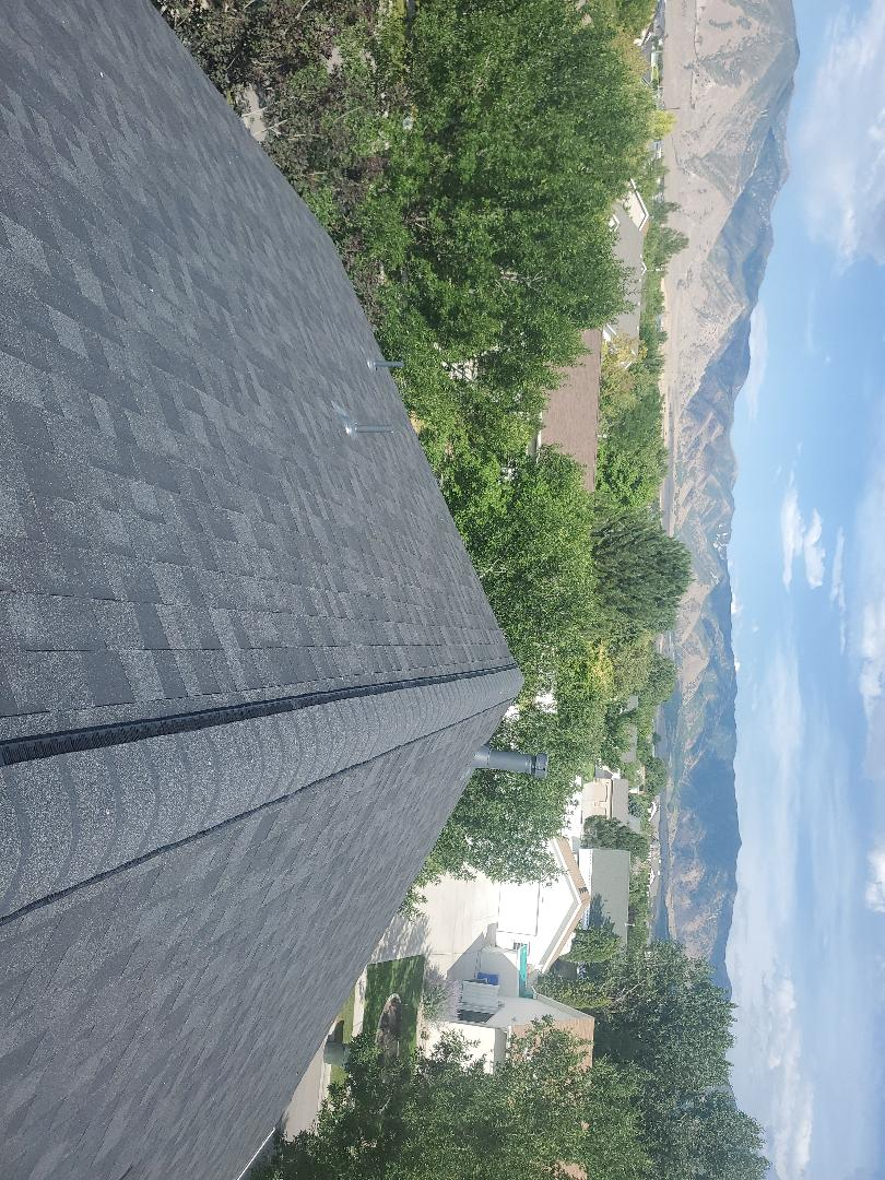 Tooele, UT - Another beautiful roof done color onyx black