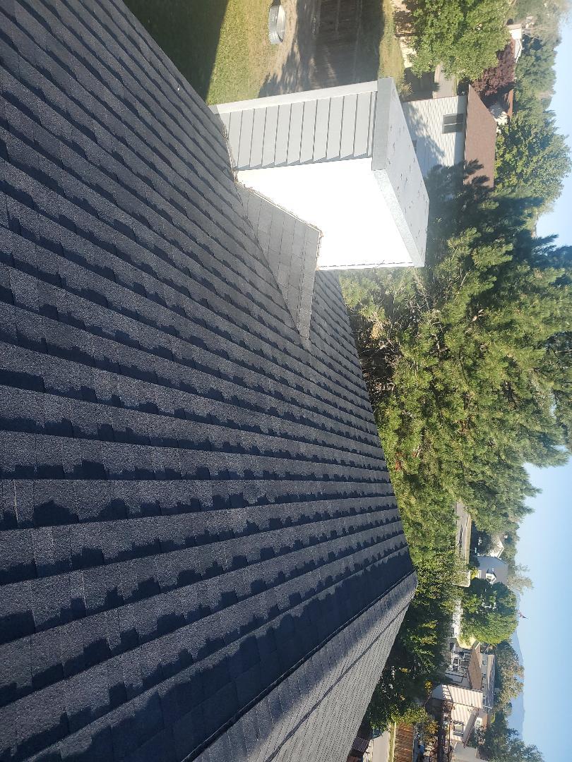 West Jordan, UT - Nice roof done color onyx black