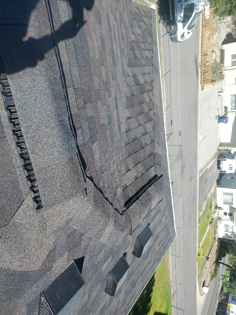 Kearns, UT - Beautiful roof done color black Sable
