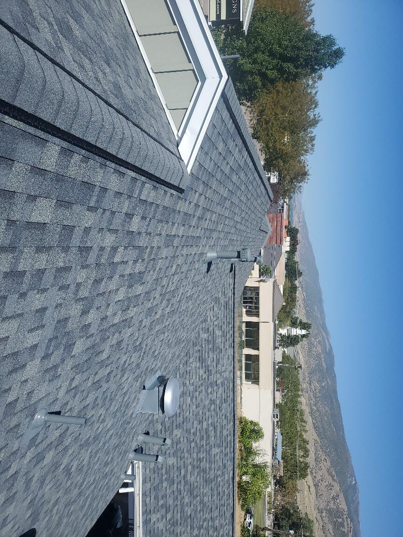 Bountiful, UT - Beautiful roof done color state gray
