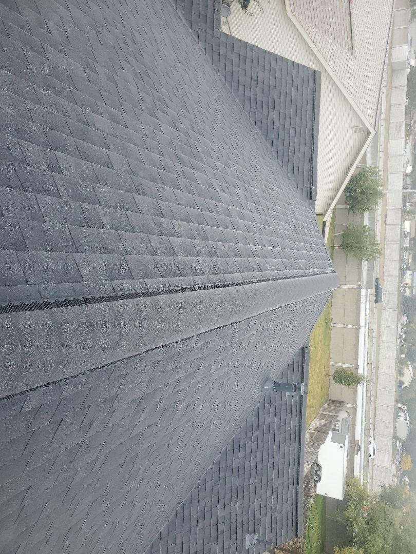 West Jordan, UT - Beautiful roof done color onyx black