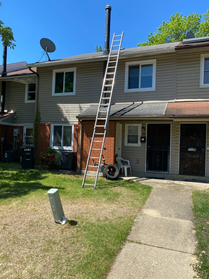 Oxon Hill, MD - Insurance restoration referral for a new roof. GAF Timberline HDZ architectural shingles