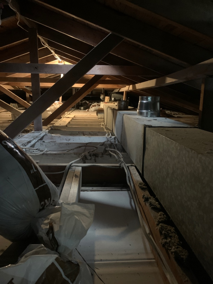 Lake Charles, LA - New ductwork going in after hurricane damage in lake Charles Louisiana