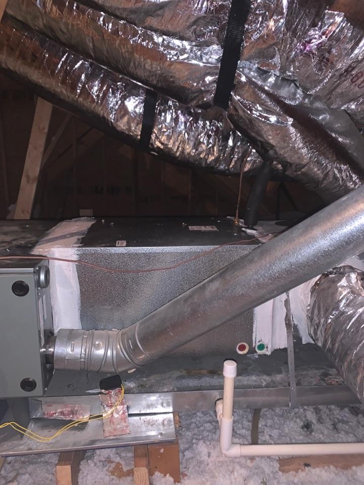 Hammond, LA - Installed a new ADP coil in hammond la