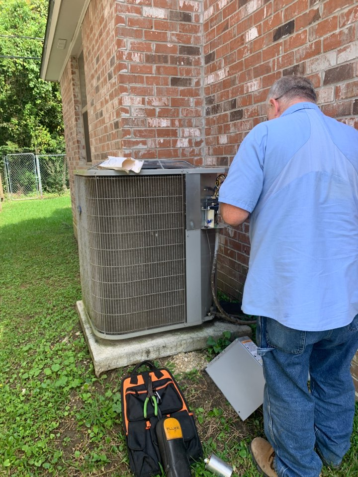 Installing new failed capacitor on this Carrier ac unit